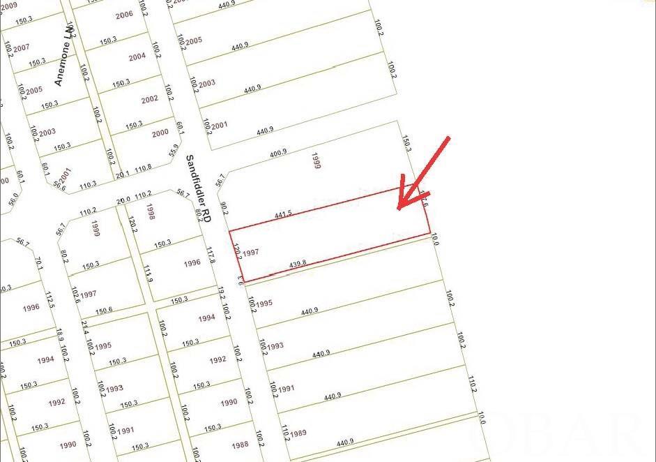 1997 Sandfiddler Road,Corolla,NC 27927-0000,Lots/land,Sandfiddler Road,97796