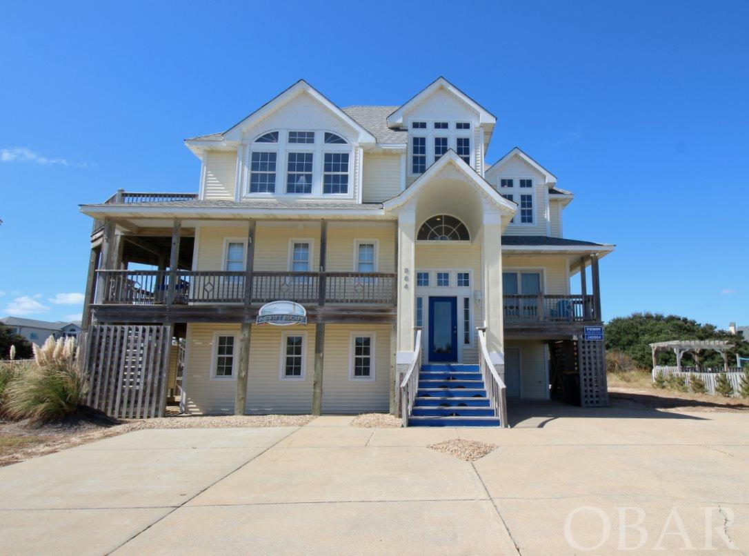 864 Whalehead Drive,Corolla,NC 27927,6 Bedrooms Bedrooms,6 BathroomsBathrooms,Residential,Whalehead Drive,97992