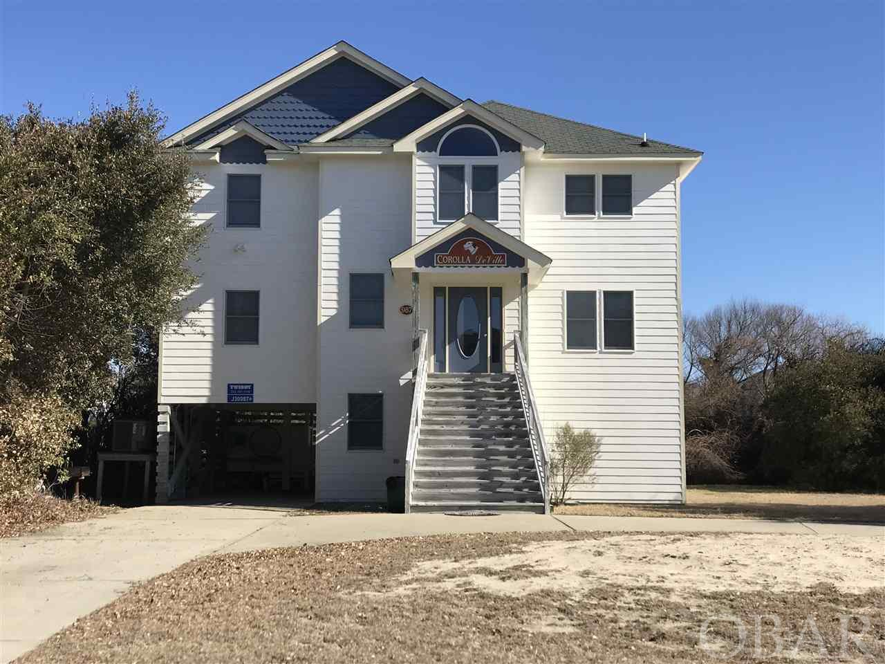 987 Whalehead Drive,Corolla,NC 27927,6 Bedrooms Bedrooms,5 BathroomsBathrooms,Residential,Whalehead Drive,99025