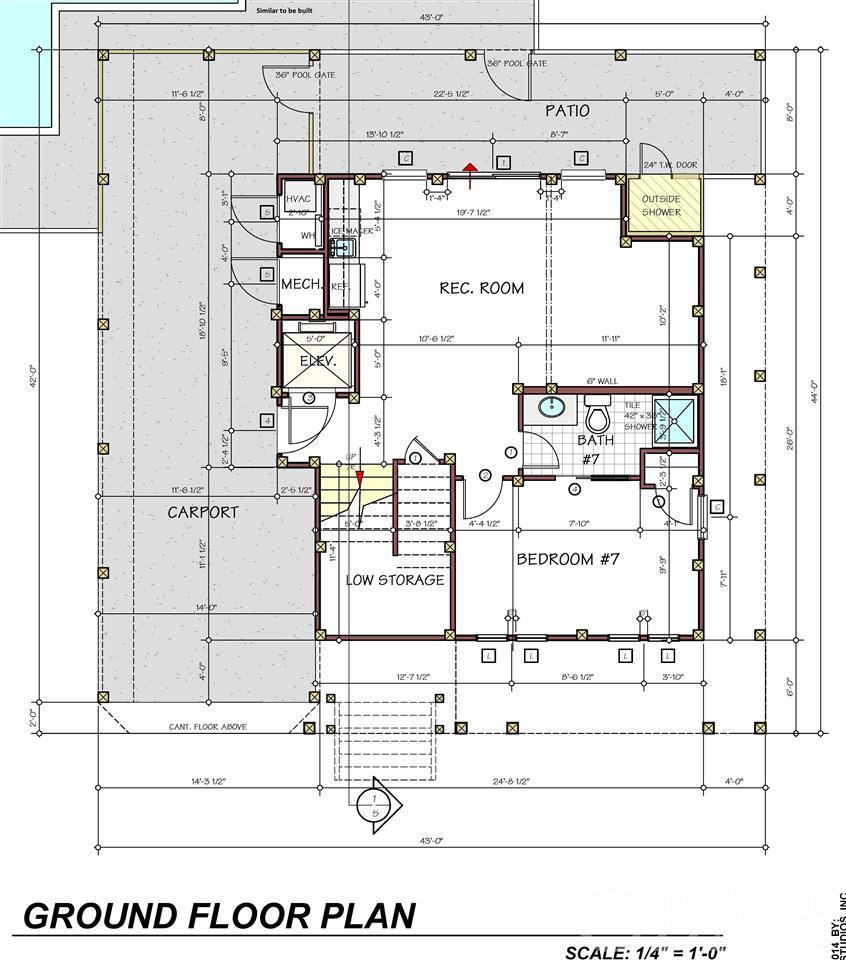 1204 Coral Lane,Corolla,NC 27927,7 Bedrooms Bedrooms,7 BathroomsBathrooms,Residential,Coral Lane,99886