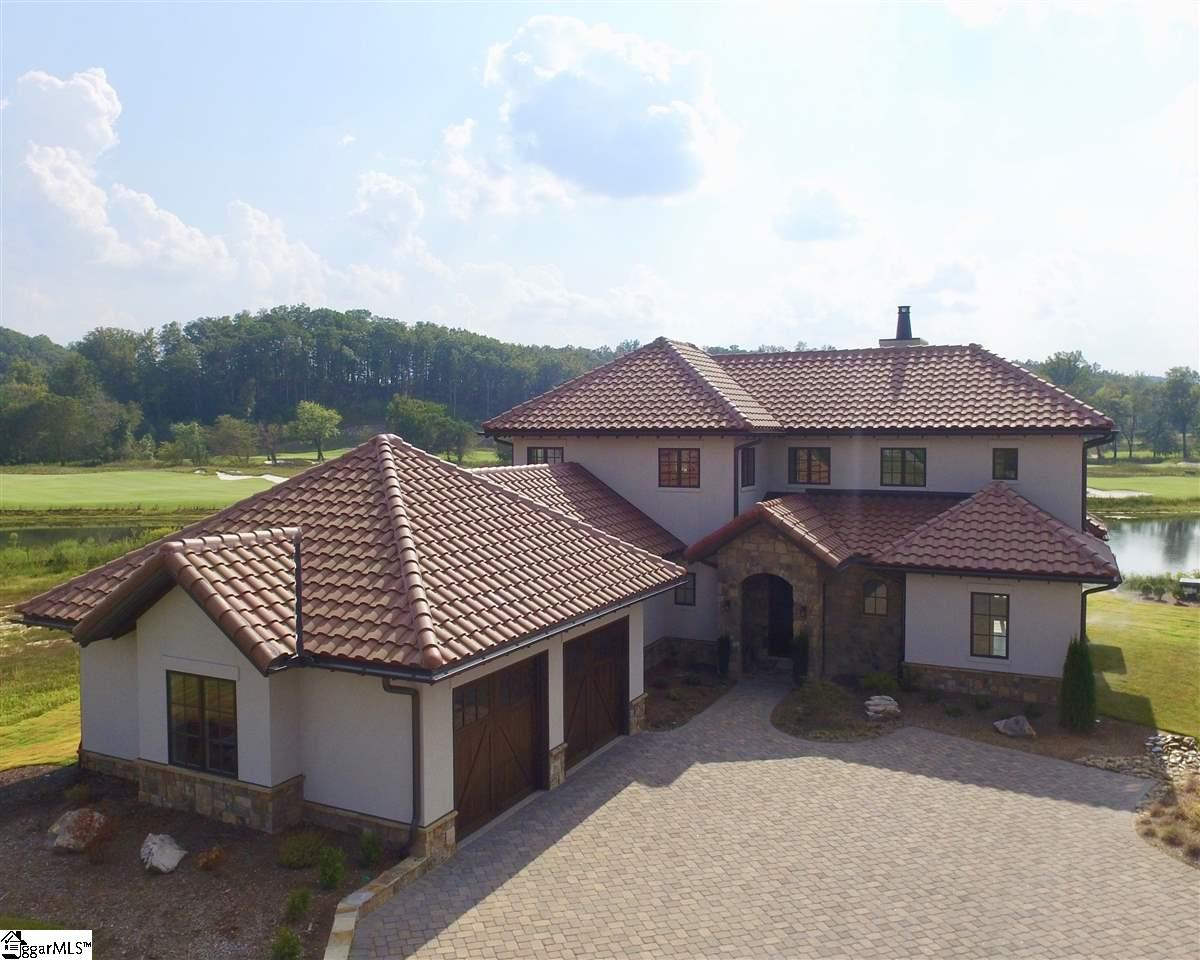 Located along the water in the Village at Mountain Park and overlooking Gary Player's links masterpiece, the Lago Villas are a collection of ten Italian-inspired cottages offering spectacular views at the foot of the Blue Ridge Mountains and convenient access to The Cliffs at Mountain Park's spectacular array of amenities. Features a waterfront location with panoramic views of the Gary Player Signature course and Blue Ridge Mountains. There are three available plans from 1,800 - 3,000 square feet with the interior design by award-winning Villa Verona Design. Convenient access to state-of-the-art Wellness Center, dining at the Cabin at Mountain Park, 8.5-mile multi-use trail system, medical and dental offices, as well as future amenities in the Village at Mountain Park and access to all seven of The Cliffs communities with membership. A Cliffs Club membership is available for purchase with the real estate.