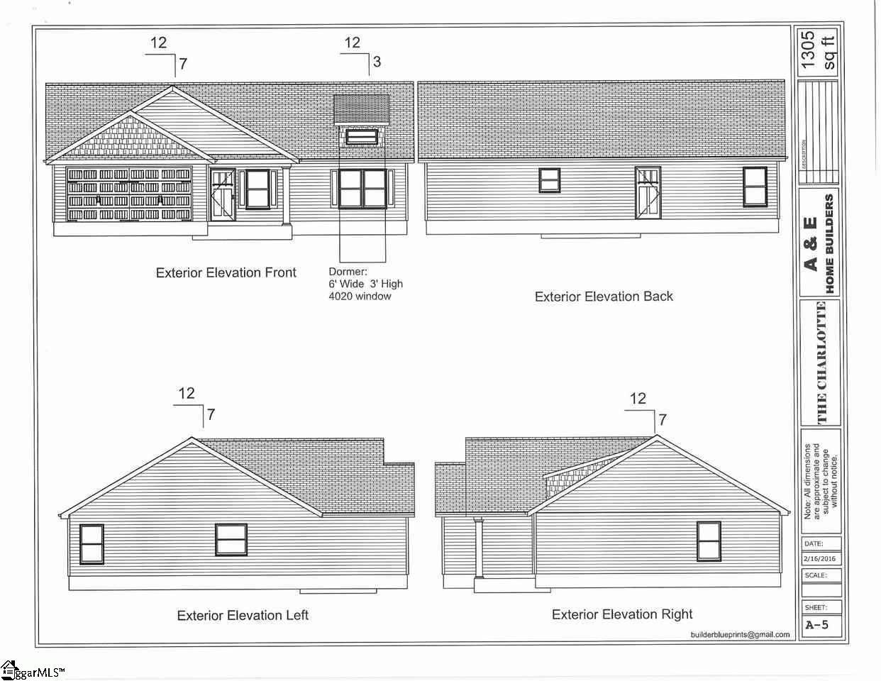 110 Dana Lynn Lane, #Lot 54, Pendleton, 29670 | Berkshire Hathaway  HomeServices C  Dan Joyner, REALTORS