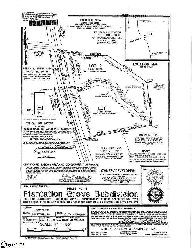 405 Walnut Grove Roebuck, SC 29376