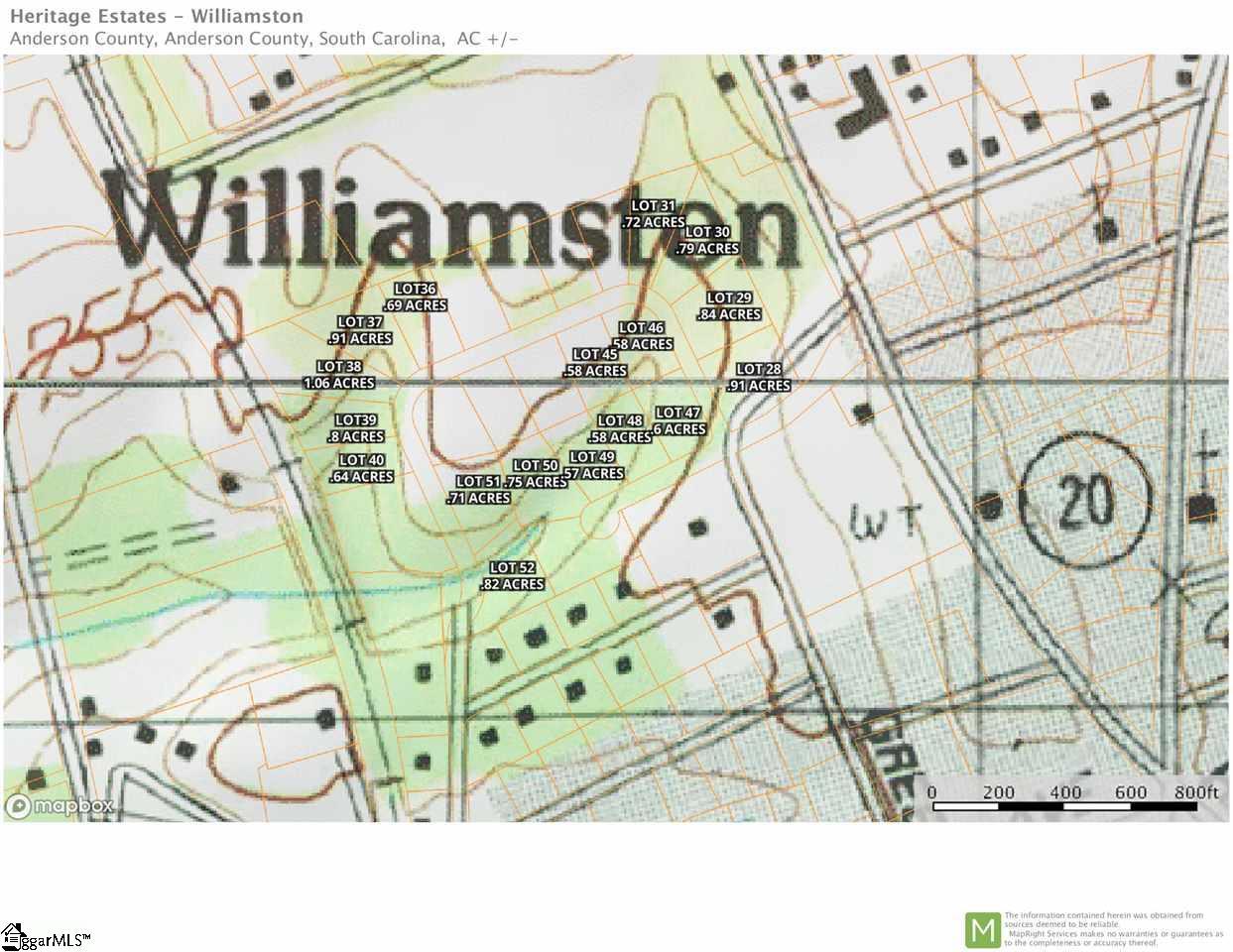 Simpson Street, Williamston, 29697 | Berkshire Hathaway HomeServices C  Dan  Joyner, REALTORS