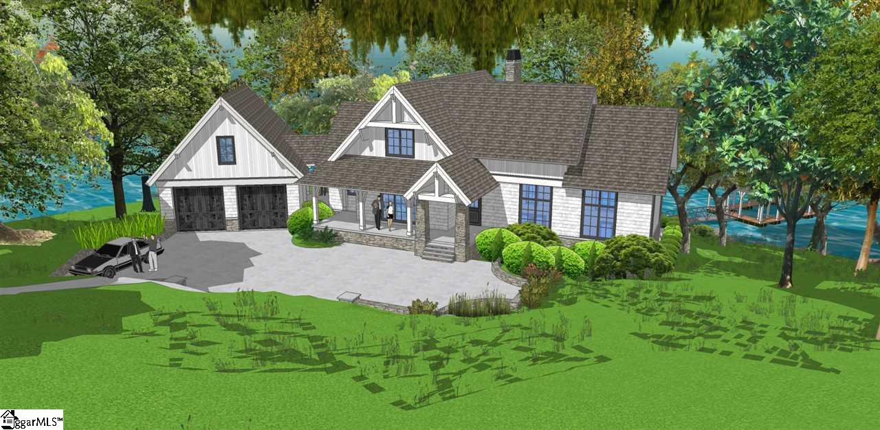 Imagine life in a brand-new, cottage style, lakefront home tucked away in the thriving community of The Reserve at Lake Keowee. This Cosdrew home was designed by architect Frank Bain with Anthemion Architecture, and is being built by luxury builder, Sexton Griffith. Enjoy all the charm of a cottage with all the benefits of a brand-new home. Your family and friends will love relaxing in the large outdoor living area, which includes open decks, a screened porch with a fireplace, terraced level patios, and a fire pit area. With gentle access to the lake and dock, all the fun and beauty of Lake Keowee is just steps away. Even when you're inside, magnificent views of the lake will follow you throughout your welcoming cottage. The spacious, 3-level home will have 4 private bedrooms, 3.5 baths, and a 2-car garage with a concrete driveway. Located conveniently close to the club and Village area, this neighborhood also has easy access to the Keowee Avenue gate for a quick exit to shopping and day trips. This is the dream cottage you've been waiting for, make a move today!