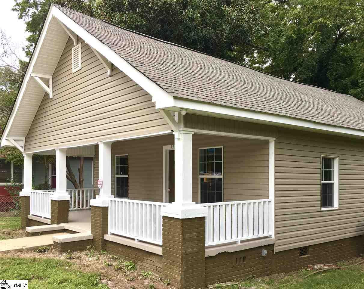 This 3 BR / 3 BA Fully Remodeled home sits on .39 acres lot just 5 minutes from Beautiful Downtown Spartanburg, Spartanburg Regional Medical, and less than 10 minutes from University of South Carolina Upstate, Wofford College, and WestGate Mall, I-85, I-26, and Highway 29.  The Large Lot is level and fenced!  Everything is New about this Home including Vinyl Siding, Roof, HVAC and Ductwork, Flooring, Windows/Doors and all Fixtures. Each Bedroom has a Full Bathroom!  All Appliances and Furniture is included with this Charming Home!