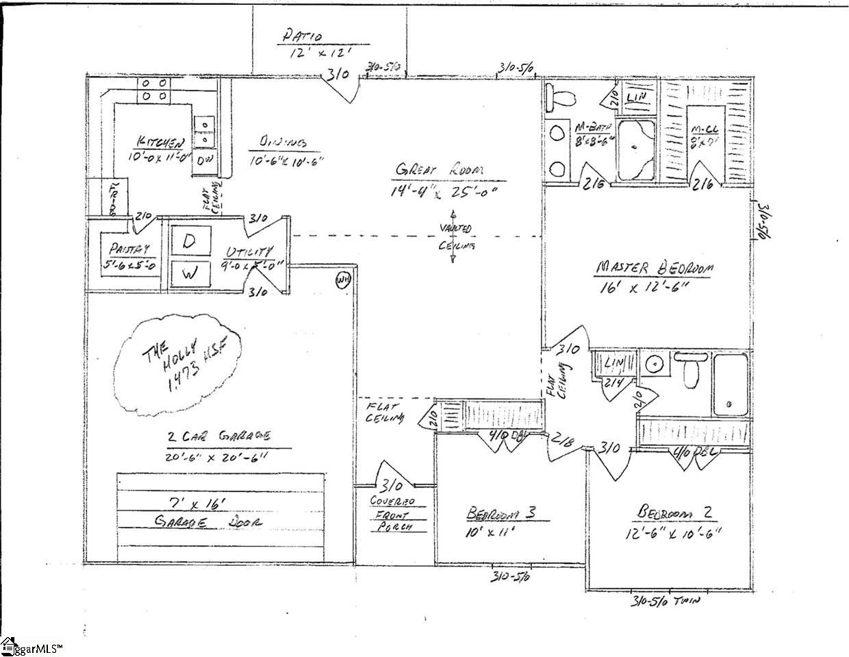 325 W Mill Street Gray Court, SC 29645