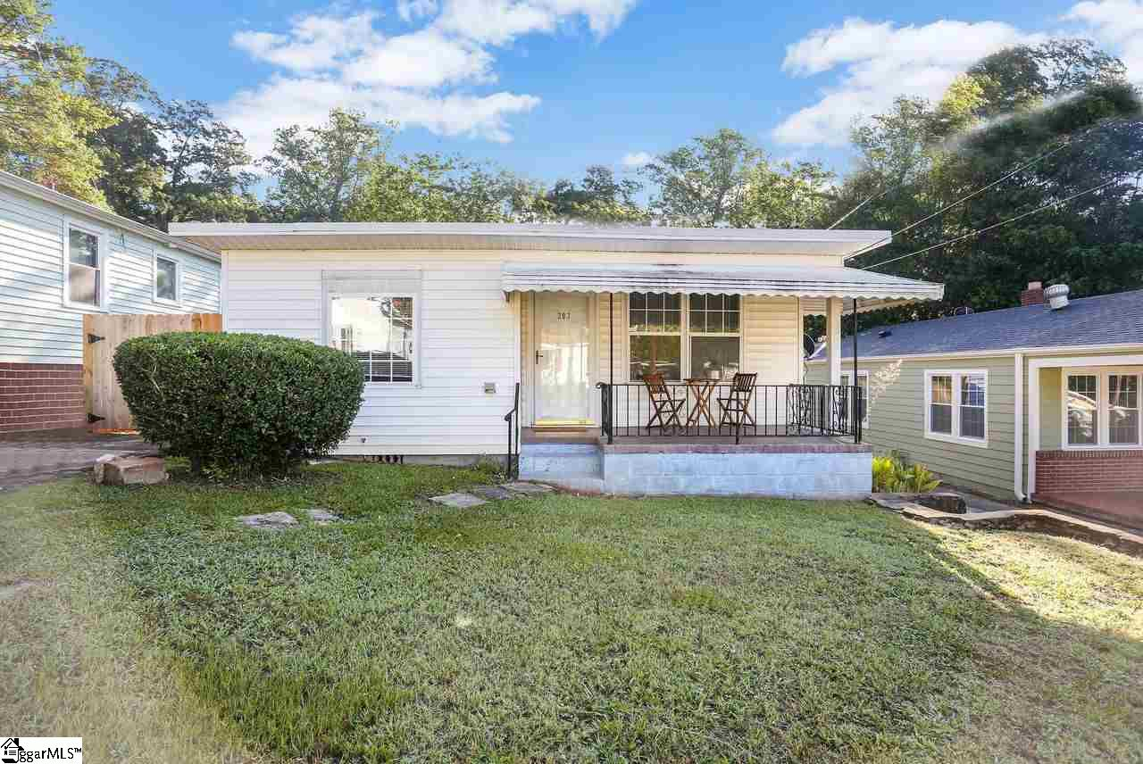 This charming home can serve as a really nice starter home or investment property. The home has a beautiful yard with a brand new fence privacy fence, and a great front porch to take in some fresh air. It is located less than 10 minutes from Downtown Greenville for shopping, eating, and entertainment and easy access to hwy 385 for commuters.