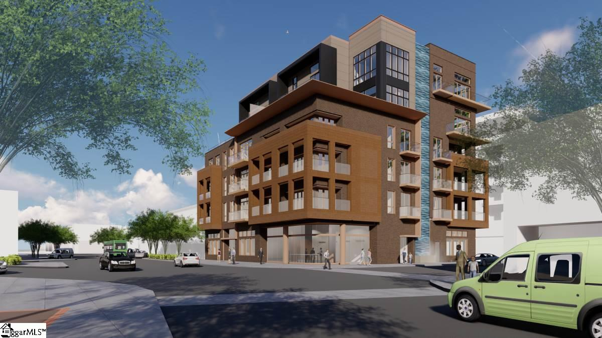 Breaking ground in first quarter of 2021!!!!In permitting stage with the City of Greenville. Live large in the finest location in downtown Greenville, South Carolina, right on Main Street, directly in the heart of the city. The Avant offers luxurious living in a big way, with huge floorplans, ultra-modern parking technology, a gorgeous water feature and the finest fixtures and amenities. Greenville has become one of the most sought-after locations in America, and it's award-winning downtown beckons with an abundance of restaurants, galleries, shops, entertainment venues and an incredibly livable vibe. There is no other building with the prestige, style and conveniences of The Avant and with only 12 units available, you'll want to act quickly.