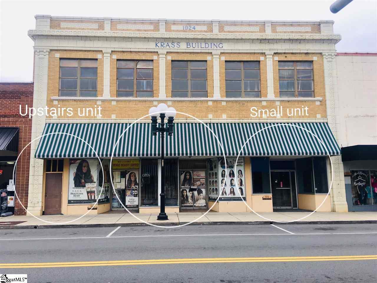 106 W Main Street Union, SC 29379