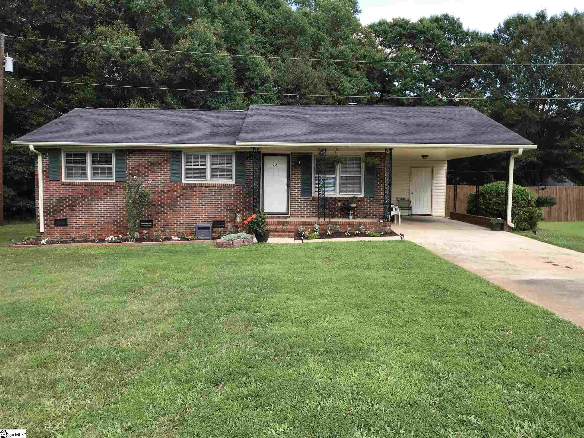 716 Woodvale. Road Anderson, SC 29624