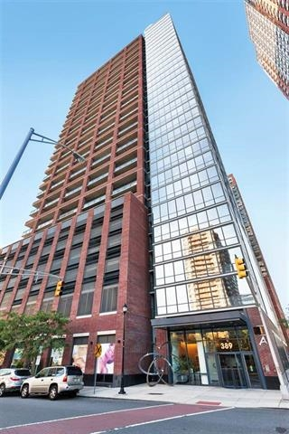 "Well maintained large two bedrooms and two bathrooms unit in desirable A Condo. Gleaming cherry Hardwood floor throughout. Upgraded Kitchen with all stainless steel appliances. Fabulous Hudson river view and New York city mid town view right from your living room and your bedrooms.  One deeded parking included. Close to bus/train/shopping/restaurant. Move in condition. Heat, hot water and gas are included in maintenance fee. The "" A"" Condominiums includes lobby, 24-hr concierge, exercise room, kids play room, residence lounge and 2 large patios for grill or party."