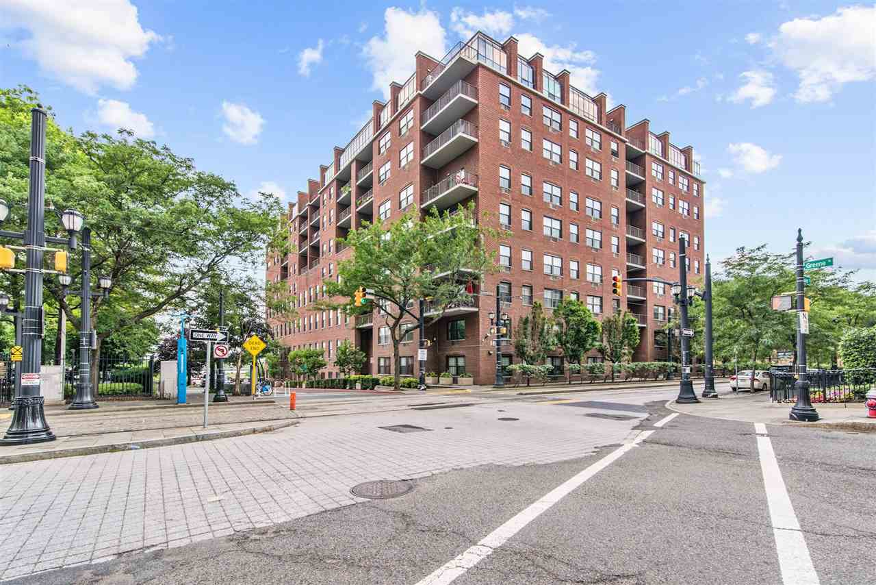 1542 Glorious Square Feet of living space at Clermont Cove. This 2br plus loft/ den is situated in the serene and highly sought out, Paulus Hook location - this Riveting waterfront community is surrounded by the Hudson River and Marina and is  within blocks to PS#16, public park along the river walk, the light rail and exchange place path station at Essex and The Water Taxi at Warren, make this sought out commuting neighborhood truly ideal. This immaculate  condo home is well lit and features bright  blonde tone wood floors that compliment the open concept feel of this loft condo with the living room ceiling boasting 19ft. This home is an entertainers delight. Each King/ Queen sized bedroom features ample closet space, NYC views, in-room wall units for specialized atmosphere and temperature control, The master en-suite also features a custom closet the leads to the pebbled floor, and double vanity master bathroom-. The kitchen features  custom counter tops and backsplash, S/S appliances and easily adaptable mid-tone wood cabinetry, Design to perfection this Magnificent beauty should be your first and final destination during your home search.  The amenities of the building include, full season outdoor pool ( coming late season) , on site Exercise room, Valet Parking, and 24hr concierge - So convenient to all the JC and NYC has to offer, make your life a bit easier, by calling this unit home.