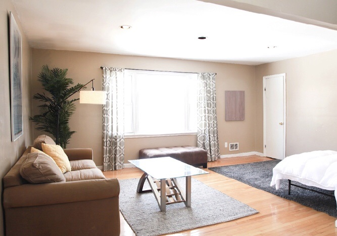 Lovely 3bed 1bath 1 parking space. This home is approx 1300sq ft. located on the 2nd floor. Tenant pays all utilities and a portion of the water bill quarterly. CENTRALLY LOCATED, ONLY 15 MIN WALK TO JOURNAL SQUARE PATH, 5-7 MIN DRIVE TO DOWNTOWN JC, 15 MINUTES TO NEWARK AIRPORT. CLOSE TO SEVERAL BUS LINES AS WELL.  Minimum  credit score 700 Minimum yearly income 80k  Please note showings on Sundays between 11-2pm only with 48 hr notice. No exceptions