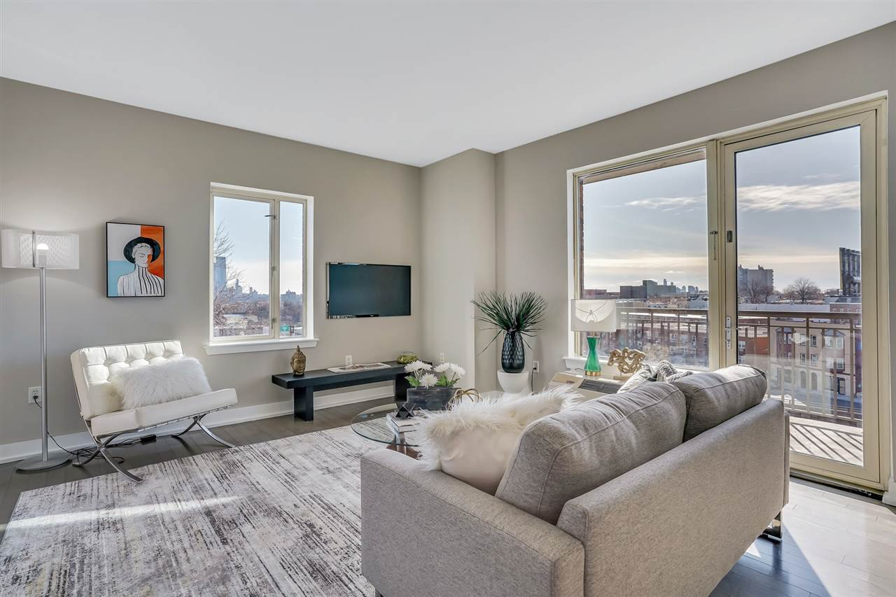 This Luxury 3 Bedroom, 2 Bathroom Condo, open living room/dining room with 2 terraces, fully equipped kitchen, stainless steel appliances, granite countertops and mosaic backsplash, designer baths, gleaming hardwood floors, ample storage and closets, and a plethora of amenities usually reserved for higher priced condominiums. Welcome to THE THREAD and thriving Union City perched high atop the Hudson County Palisades, offering breathtaking views of New York City and beyond. Union City is Recognized fondly as the Embroidery Capital of the World, it's rich culture and eclectic districts provide wonderful shopping districts, fine restaurants, chic boutiques and stellar nightlife along Bergenline Avenue and the Boulevard to appeal to every lifestyle. Best of all, Union City is one public transportation stop to Midtown Manhattan, Downtown within 10 minutes, and easily accessible to all major highways North, South and West, Bus and Ferry service, LightRail, the Lincoln Tunnel and the George Washington Bridge. Surrounded by an extensive transportation, business and commercial hub, you'll be steeped in a unique urban experience as a Union City Resident.
