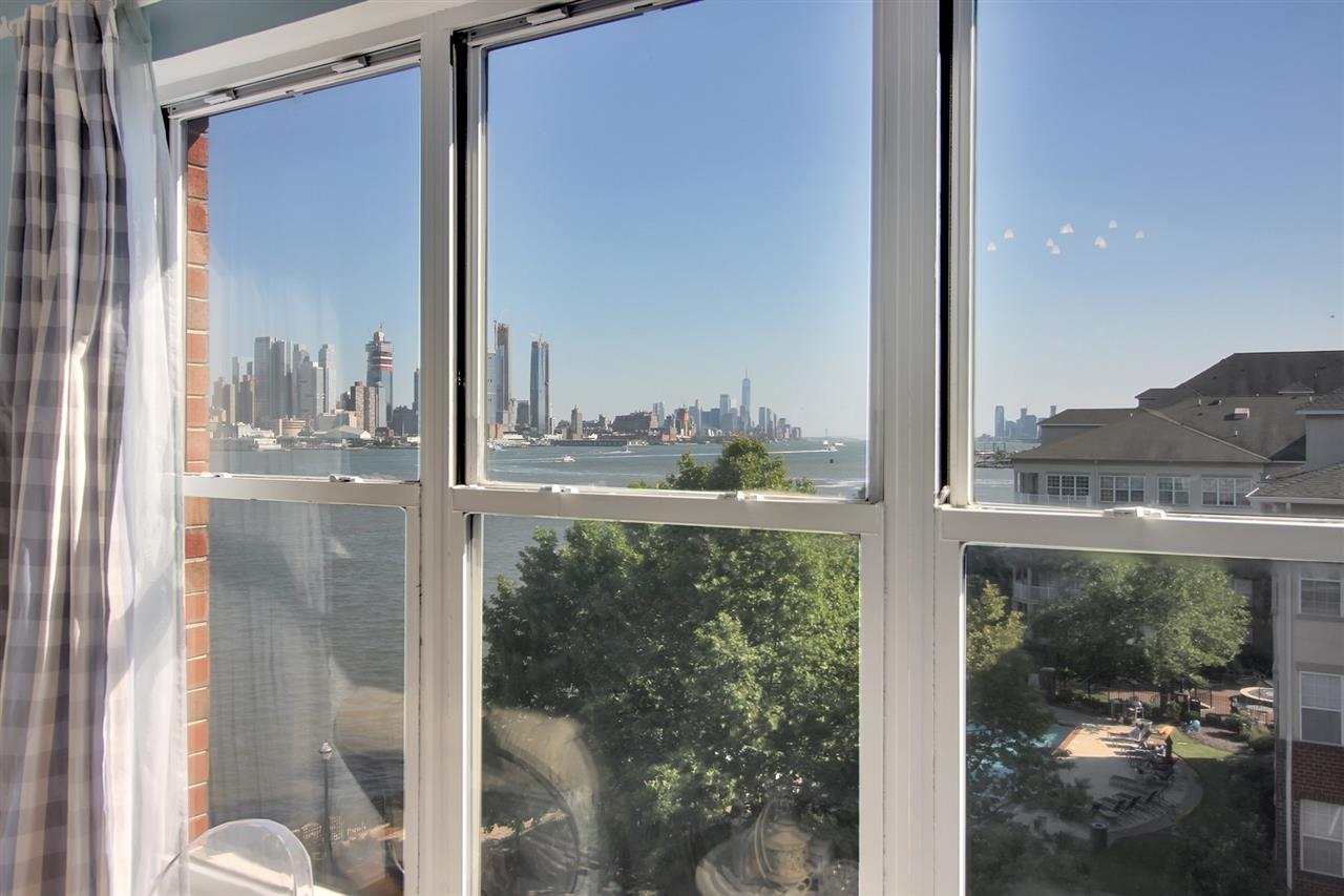 *HALF FEE PAID IF RENTED BY 11/1*. Enjoy a luxury lifestyle along New Jersey's Gold Coast at the highly sought after Hudson Club!  This unique and rare 1 Bedroom plus Den top floor loft will sure to please with South facing views and NYC and Hudson River views spreading across 917 square feet. This home boasts complementary living with an open loft style.  Perfect for entertaining the home has a state-of-the-art kitchen, master en-suite, and a second floor den space.  The home also has the convenience of an in home washer/dryer, indoor parking, and suburban feel with city commodities. Gas, water, hot water, parking, amenities, and cable/internet are all included in rent. This premier waterfront community is fully accommodated with luxury amenities including Fitness Center, Pool, Basketball Courts, Tennis, Playground, Clubhouse and Concierge. You do not want to miss the easy access to NYC commute, being steps away from NY Waterway Ferry and the NJ Transit Bus to Port Authority, and having the ACME Grocery and Starbucks right outside your door.
