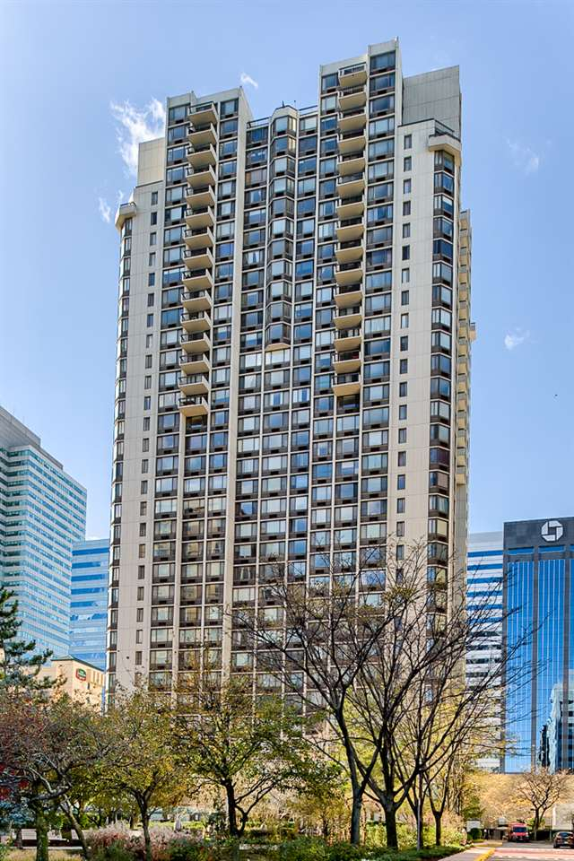A Direct East Facing 3 Bed, 2 Bath with a Private Balcony in The Emerald! Stunning NYC/River Views throughout with every room Facing Direct East! An option to move in as is or renovate the home to your personal preference. A fantastic layout with generous size rooms that is currently being used a 2 Bed plus Home Office but can easily be converted to a True 3rd Bedroom. A separate living and dining area. The kitchen is equipped with stainless steel appliances, granite countertops, custom backsplash/tiling and a wine cooler. Wake up to a view of the Empire State Building, plenty of storage with 3 closets and an en-suite windowed master bath. Building Amenities Include:  24 hour concierge, dedicated package room, gym, game room, resident lounge and a common court yard. The lobby and hallway on each floor was just renovated. The association has plans for adding additional amenities and building upgrades in the near future in order to make The Emerald a True Luxury Experience. Located around the corner from the Newport PATH and a quick stroll to the Hoboken PATH, Ferry, NJ Transit Train, Light Rail and Bus Terminal. Selection of several supermarkets, Target, Duane Reade, Newport Mall, Newport Green Park all minutes away.