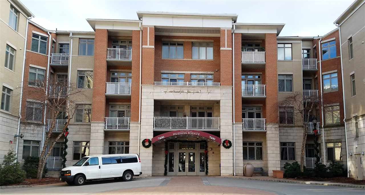 An Amazing Deal: Offered At The Sought After Hudson Pointe. This Large Two Bed, Two Bath Unit, Plus Den. Is All Upgraded. Hardwood Floors, Granite Counter Tops, Stainless Steele Appliances All Included. Washer/Dryer In The Unit. Walk In Closets and Plenty Of Storage. Great Natural Lighting. Two Indoor Parking Spots. Top Notch Amenities: Doorman, 24 Concierge , Beautiful Outdoor Pool, Outdoor Common Space Overlooking NYC. Conference Room, Common Space with Bar and Lounge And Fitness Room., It is Just Steps Away From NJ Transit Bus, And The Ferry. Plenty Of Shopping, Parks And Restaurants Near By. This A Must See Unit!