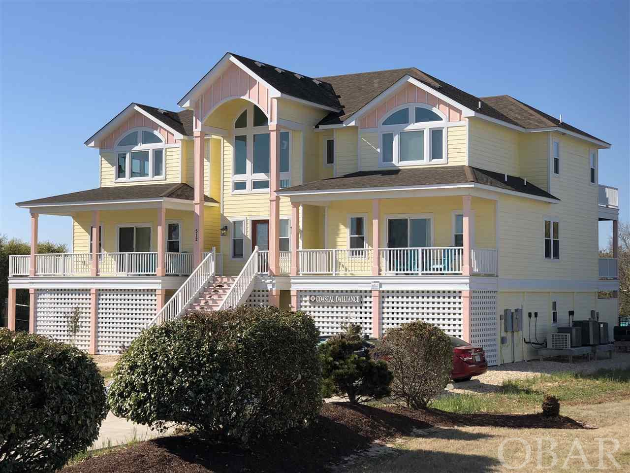 512 Breakers Arch, Corolla, NC 27927, 10 Bedrooms Bedrooms, ,10 BathroomsBathrooms,Residential,For sale,Breakers Arch,100206