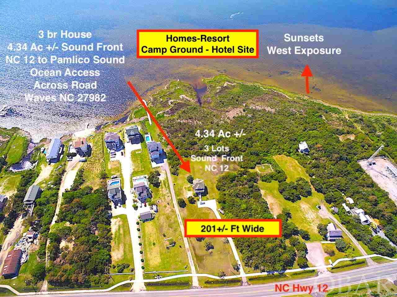 25478 NC Highway 12, Waves, NC 27982, ,Lots/land,For sale,NC Highway 12,100312