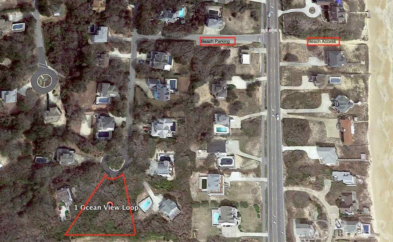 1 Ocean View Loop, Southern Shores, NC 27949, ,Lots/land,For sale,Ocean View Loop,101867
