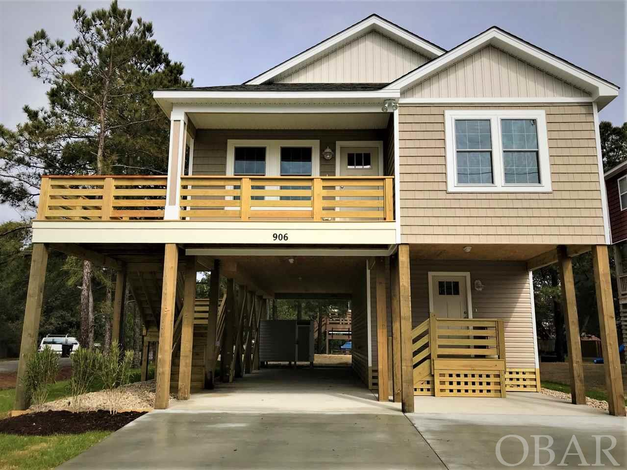 906 Third Street, Kill Devil Hills, NC 27948, 4 Bedrooms Bedrooms, ,3 BathroomsBathrooms,Residential,For sale,Third Street,104431