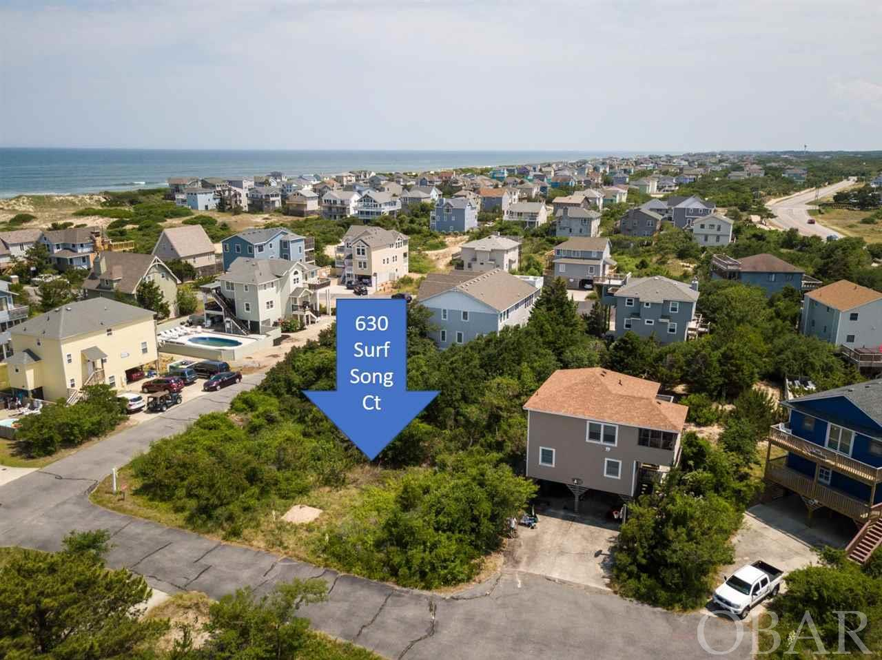 630 Surf Song Court, Corolla, NC 27927, ,Lots/land,For sale,Surf Song Court,105297