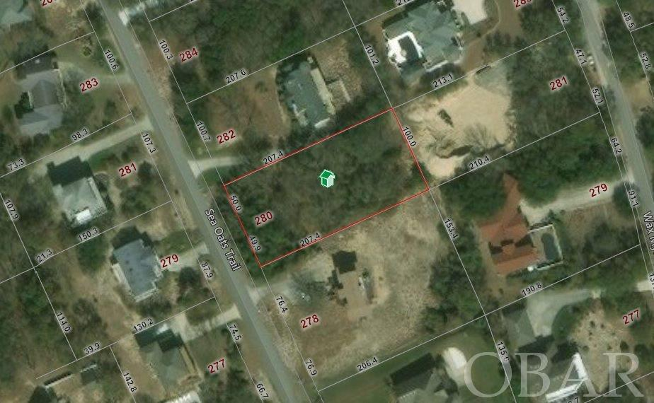 280 Sea Oats Trail, Southern Shores, NC 27949, ,Lots/land,For sale,Sea Oats Trail,105666