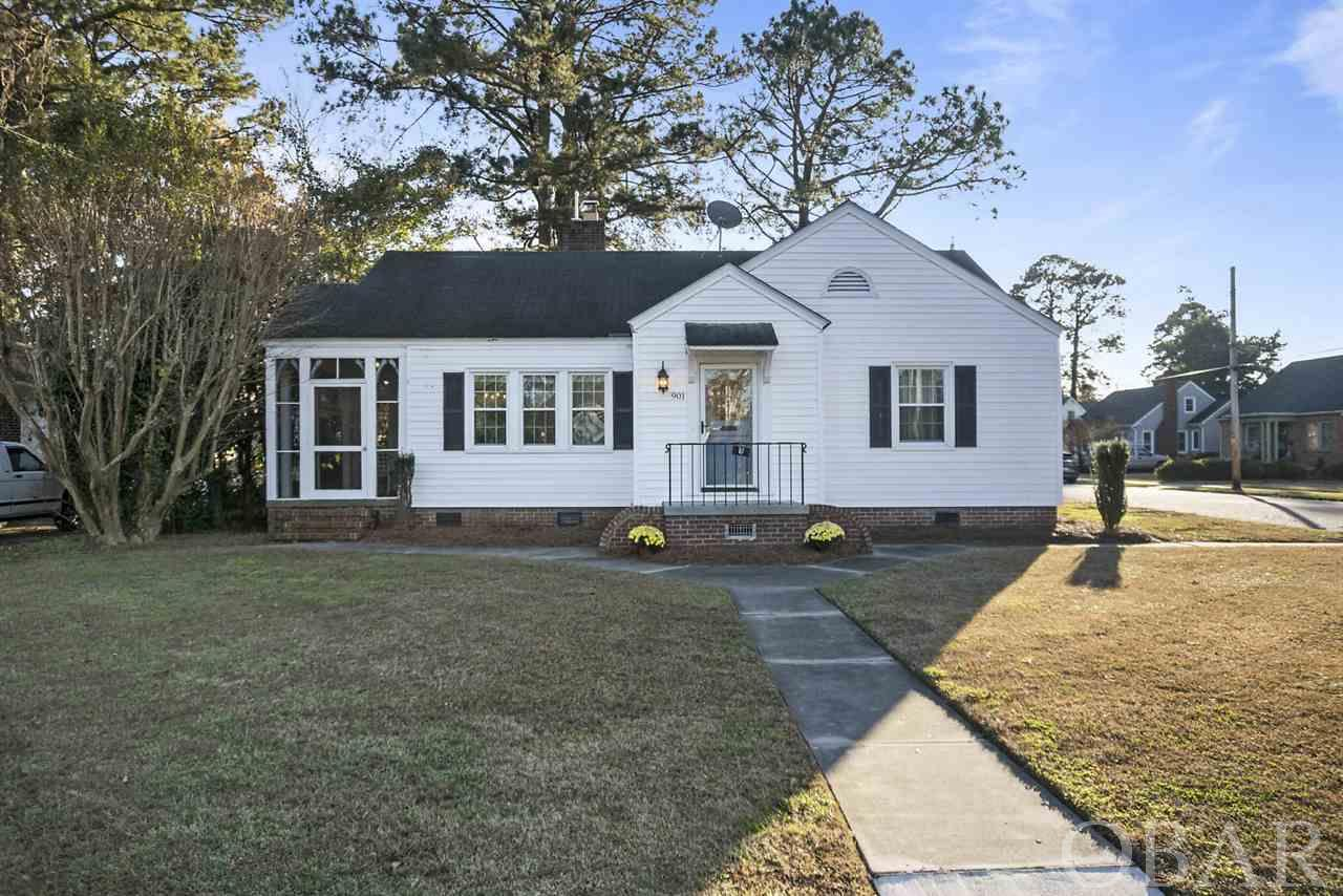 901 Jones Avenue, Elizabeth City, NC 27909, 2 Bedrooms Bedrooms, ,1 BathroomBathrooms,Residential,For sale,Jones Avenue,107796