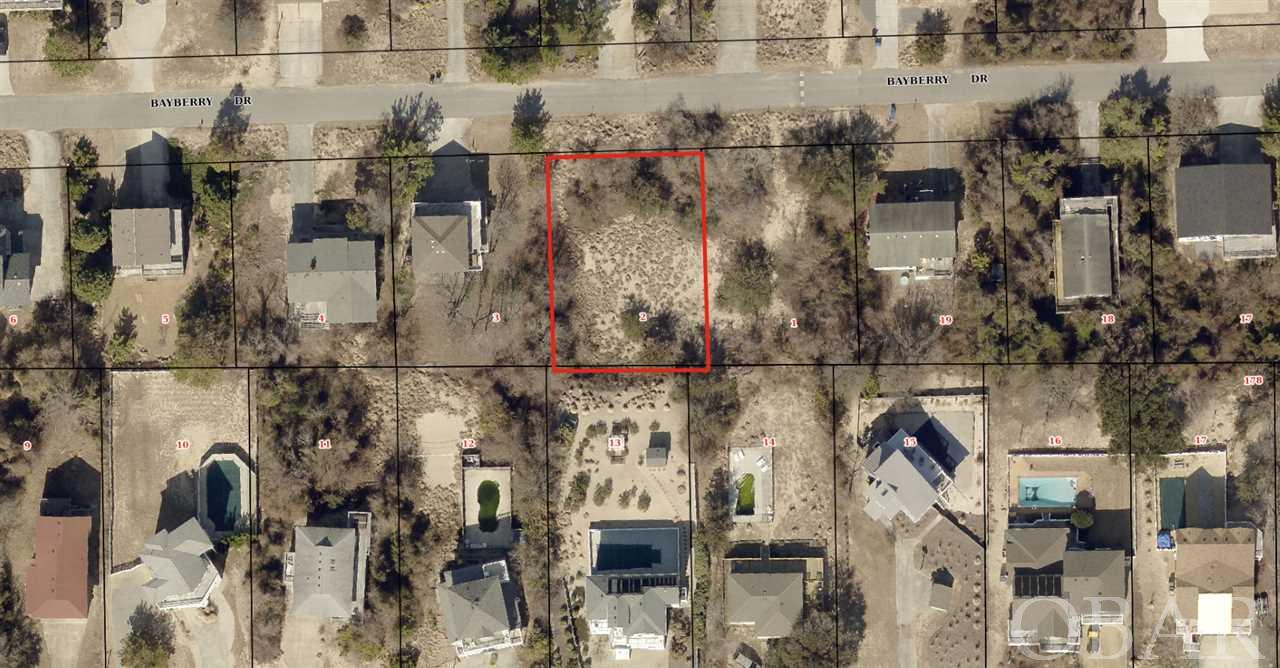 111 Bayberry Drive Lot2, Duck, NC 27949