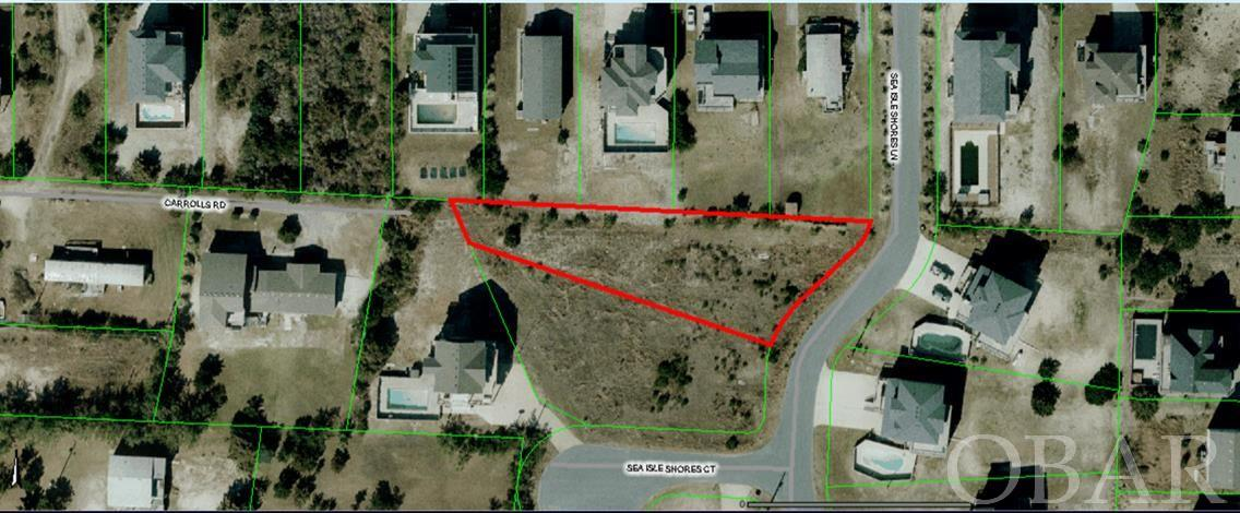 High and dry lot located in the private community of Sea Isle Shores. Surrounded by gorgeous homes, a home built here should have ocean views. Don't miss this opportunity!