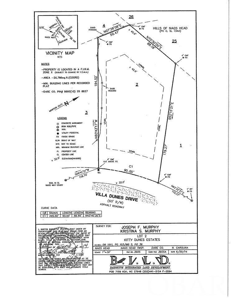 216 W Villa Dunes Drive Lot 2