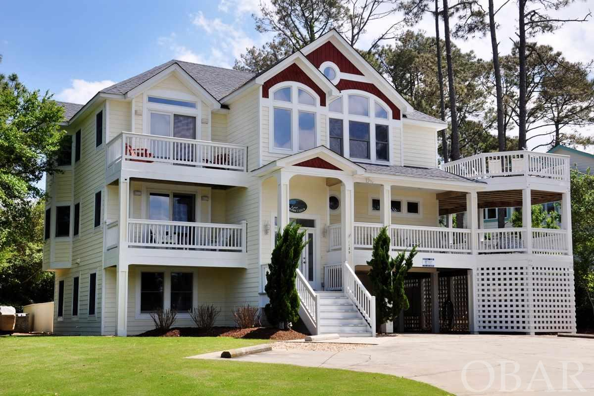 Great location.  Walk to ocean or take a trolley ride. Shops, boutiques and restaurants nearby. Guests love the house amenities: spacious pool decking with shaded picnic table, hot tub, home theatre system, rec room with refrigerator, wet bar, ice maker, foosball and ping pong, lots of decking. Trolley service provides service to oceanside and sports center that offers clay tennis, pool, fitness, racquetball, basketball, locker room with showers & saunas. There is also a sound side pool and sound piers.