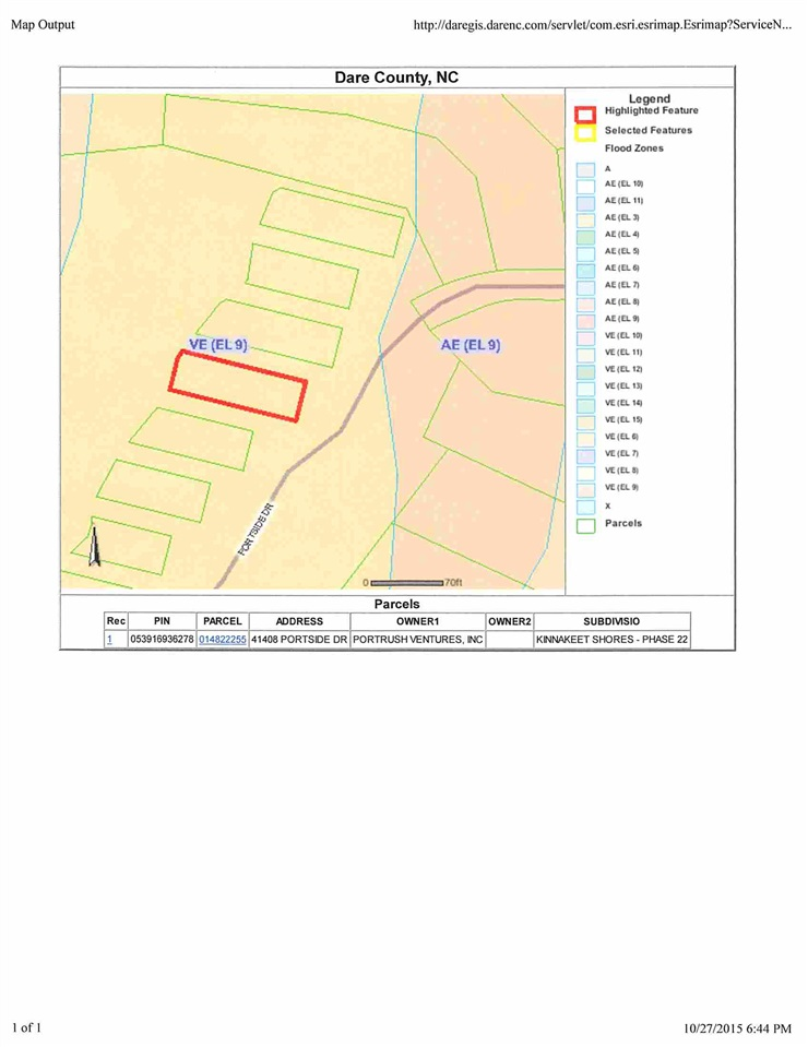 41408 Portside Drive, Avon, NC 27915, ,Lots/land,For sale,Portside Drive,90076