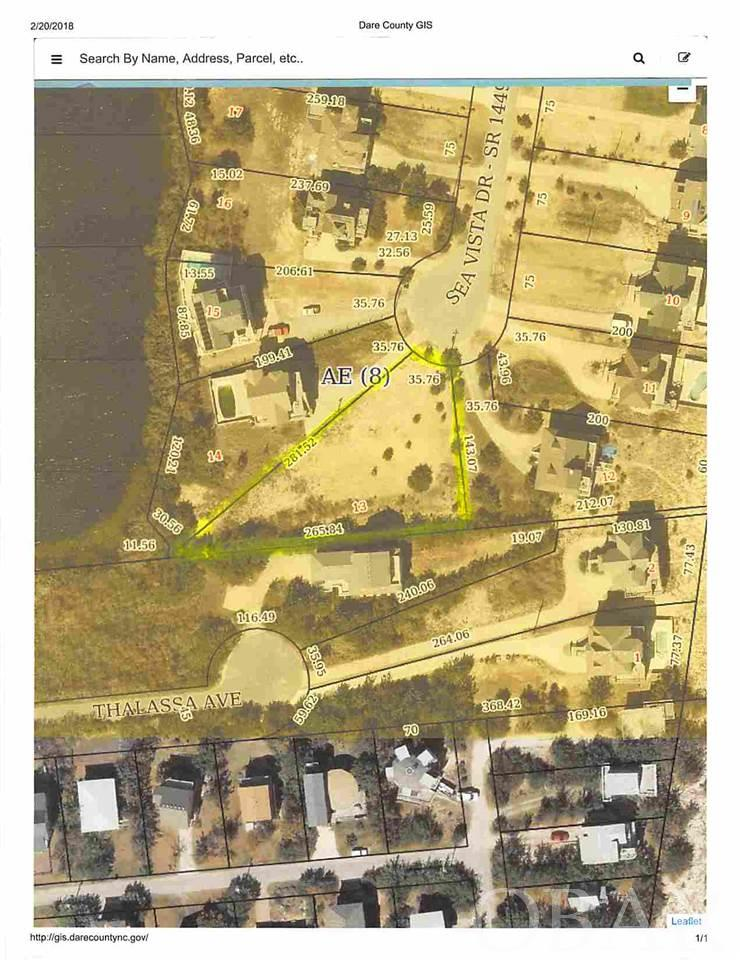 25290 Sea Vista Drive Lot 13, Waves, NC 27982