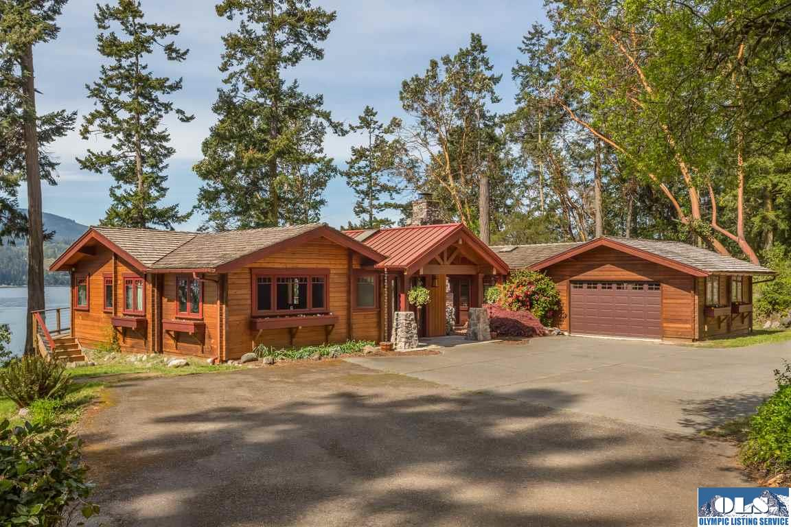 Log Homes For Sale Sequim Wa