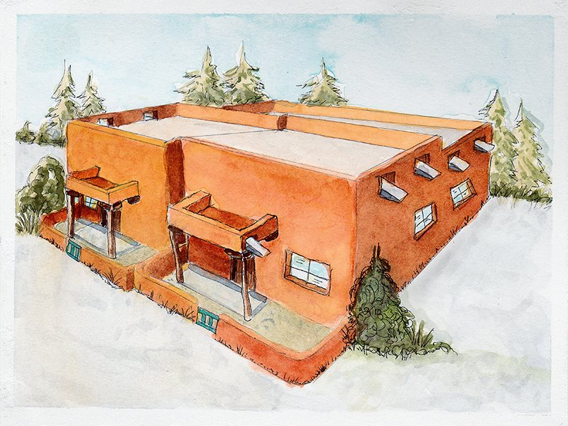 214 Calvary Road, Taos, NM 87571