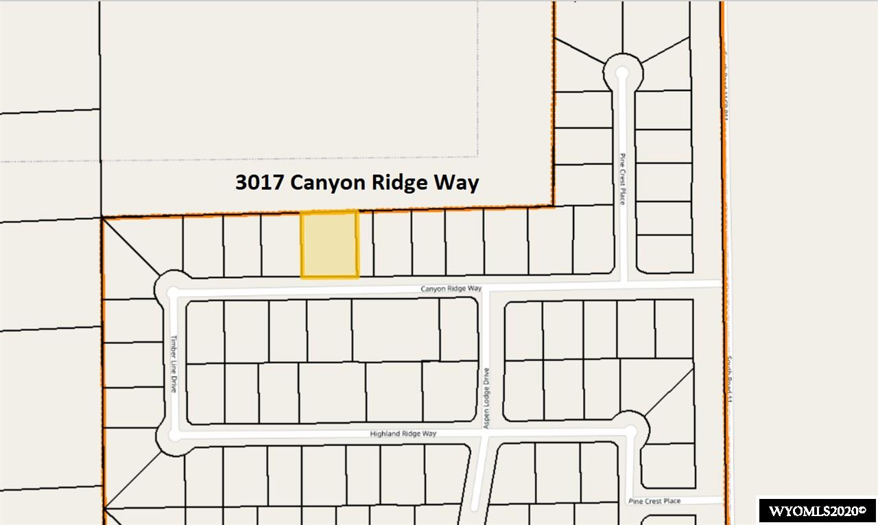 Great building lot in Worland's newest subdivision.  Large lot and a half with 17,651 sq, ft.  Covenants